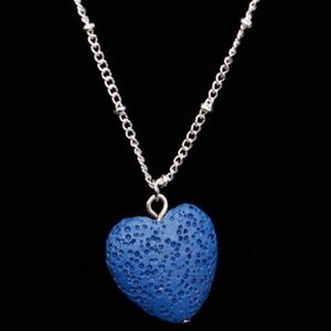 Jewelry - Oil Diffusing Heart Lava Necklace